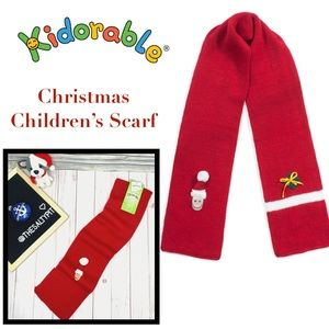 NWT Kidorable Kids' Christmas Scarf